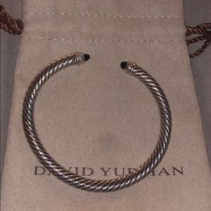 David yurman cable bracelet onyx